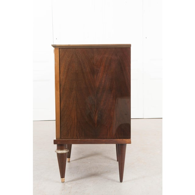 Vintage French Louis XVI Style Mahogany Enfilade For Sale - Image 9 of 12
