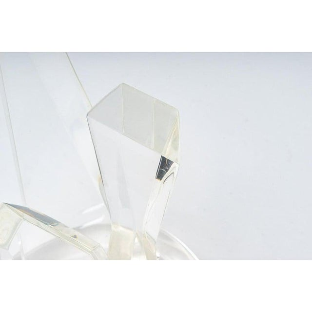 1970s Lucite Sculpture by Van Teal For Sale In West Palm - Image 6 of 13