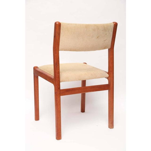 1960s Set of Six J.L. Moller Teak Dining Chairs, 1960s, Denmark For Sale - Image 5 of 7