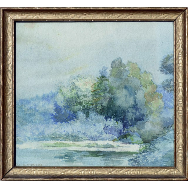 At Water's Edge by Emma Lou Redwine For Sale