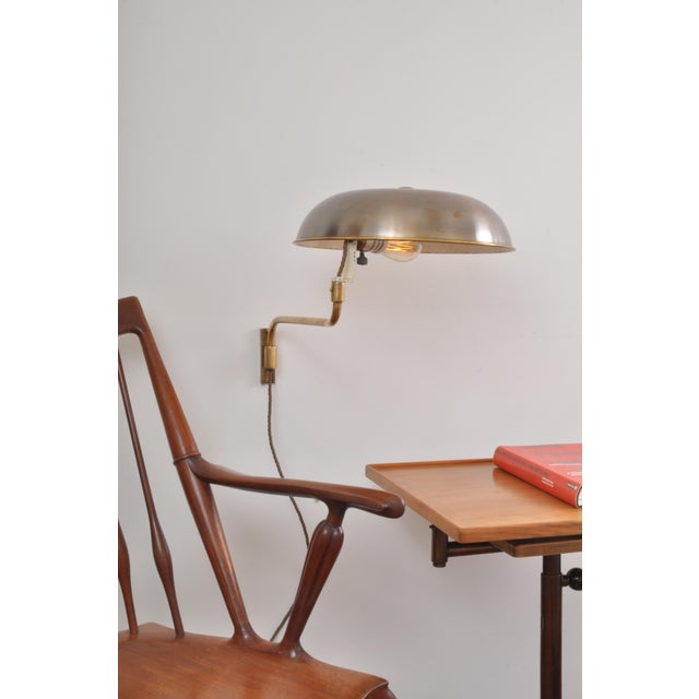 A rarely seen wall version of the more common AMBA desk lamp. It is a great pleasure for us to offer this exceedingly rare...