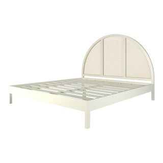 Eva Bed - King - Simply White For Sale