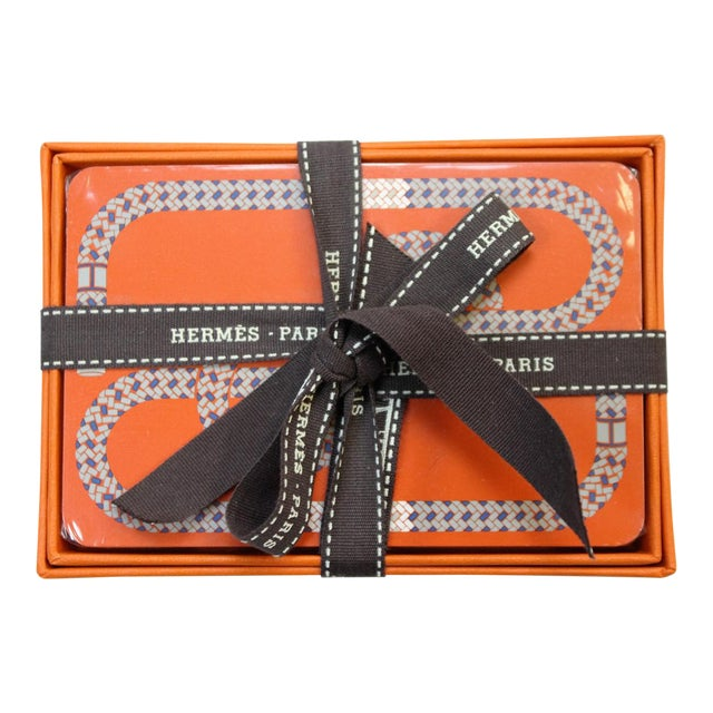 Hermes of Paris Boxed Playing Card Deck - Image 1 of 3