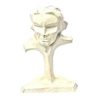 Ludwig Van Beethoven Iron Bust For Sale