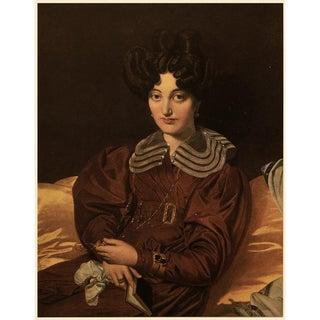 """1951 Ingres """"Madame Marcotte De Sainte-Marie"""", First Edition Parisian Photogravure For Sale"""