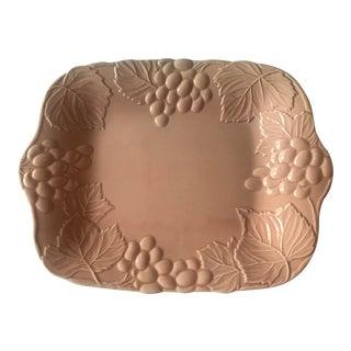 1980s Vintage Ceramic Platter For Sale