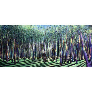 Gigantic Dense Forest Triptych in 3 Sections For Sale