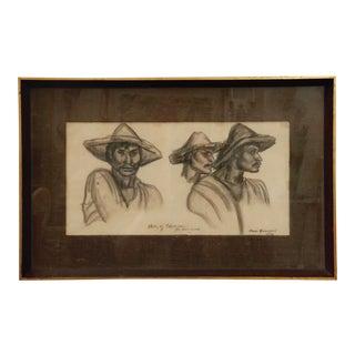 "Portrait Titled ""Study of Tanascau"" For Sale"