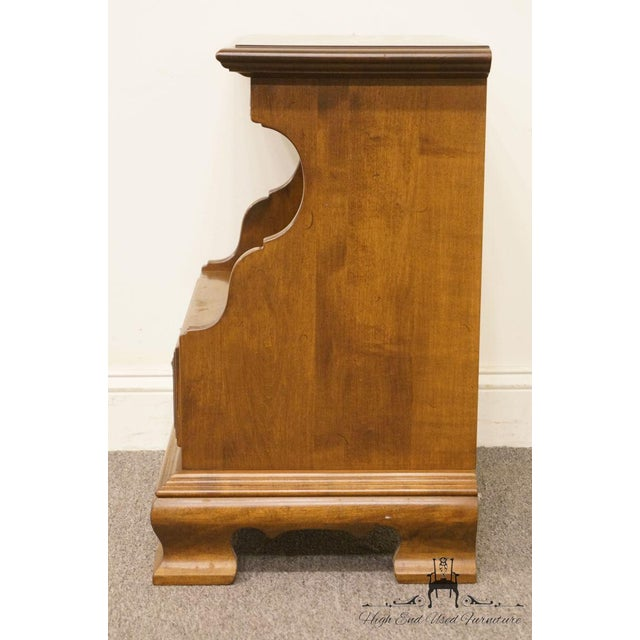 Ethan Allen Classic Manor Cabinet Nightstand For Sale - Image 9 of 13