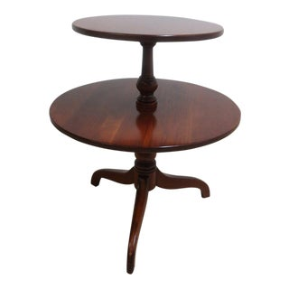 Ethan Allen Sheffield Solid Cherry End Table