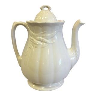 Vintage Iron Stone Tea Pot For Sale