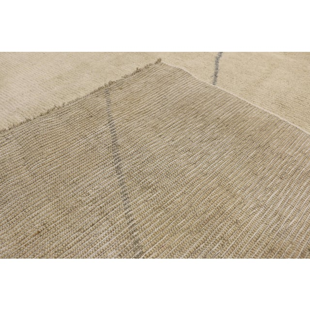 Early 21st Century Contemporary Moroccan Area Rug With Modern Style - 10'03 X 13'07 For Sale - Image 5 of 10