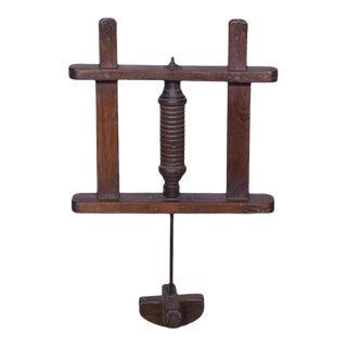 Rustic Decorative Wooden Churner For Sale