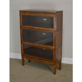 Lundstrom Antique 3 Stack Sectional Barrister Bookcase Preview