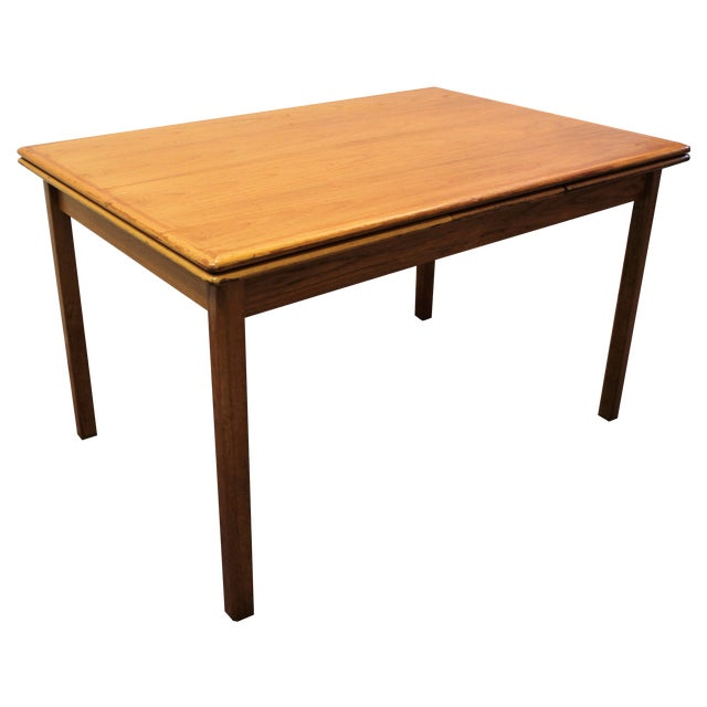Mid-Century Danish Modern Teak Dining Table - Image 1 of 10