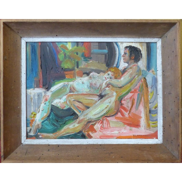 Mid-Century Nudes Oil Painting - Robert Blanchard - Image 1 of 9