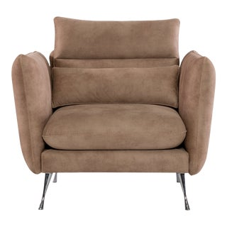 VIP Saloti Edward Fabric Club Chair For Sale