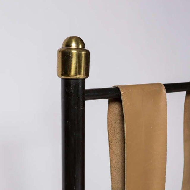 Animal Skin Italian Fifties Single Bed For Sale - Image 7 of 9