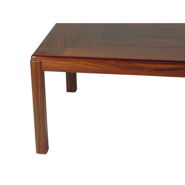 1960s 1960s Mid-Century Modern Rosewood Coffee Table For Sale - Image 5 of 9