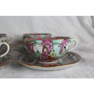 Rose Medallion Cups and Saucers - Service for 8 Preview