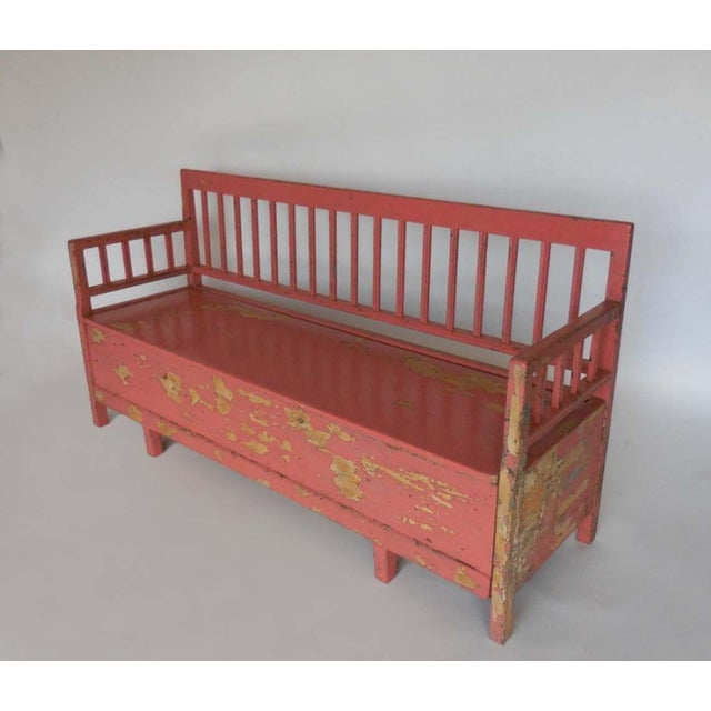 Mid-Century Modern 19th Century Painted Swedish Bench/Daybed For Sale - Image 3 of 9