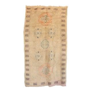 "Vintage Azilal Moroccan Rug - 4'11"" x 9'1"""