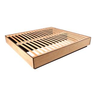 Modern Platform Bed for King Size, Pablo Romo For Sale