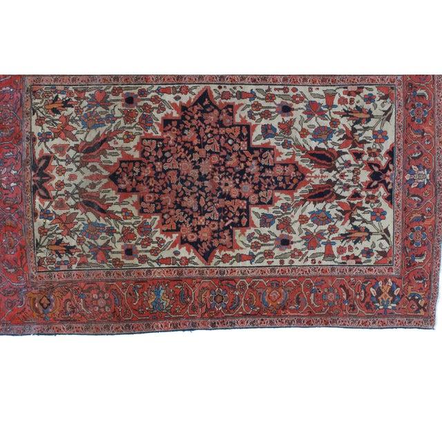Islamic Leon Banilivi Antique Malayer Rug - 4'5 x 6'9 For Sale - Image 3 of 5