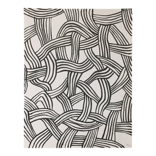 2010s Abstract Drawing, Rope I For Sale