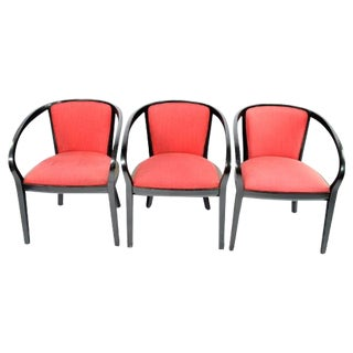 Ruby Armchairs by Knoll - Set of 3 For Sale