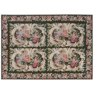 "Stark Studio Rugs Traditional Chinese Needlepoint Rug - 11'9"" X 16'7"" For Sale"