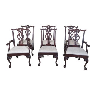 Henredon Rittenhouse Square Mahogany Dining Room Chairs- Set of 6