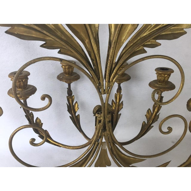 Hollywood Regency Candle Sconce For Sale - Image 9 of 11
