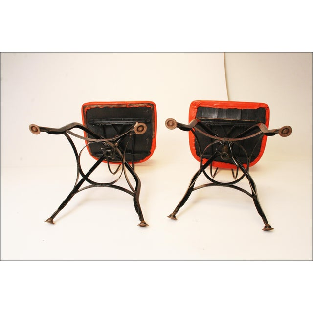 Vintage Industrial Toledo Drafting Stools - A Pair - Image 11 of 11