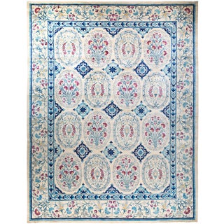 """""""Salamanca"""", Suzani, Hand Knotted Area Rug - 12' 2"""" X 15' 9"""" For Sale"""