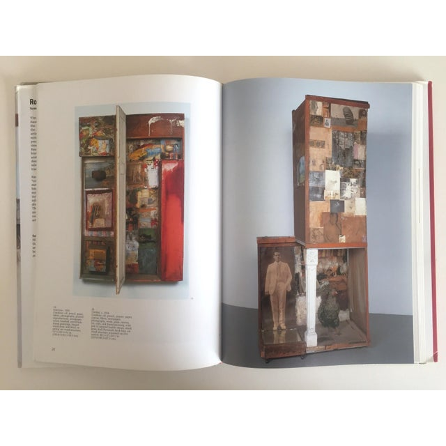 """Abstract Expressionism """"Robert Rauschenberg"""" 1st Edition Vintage 1999 Collector's Art Book For Sale - Image 3 of 11"""