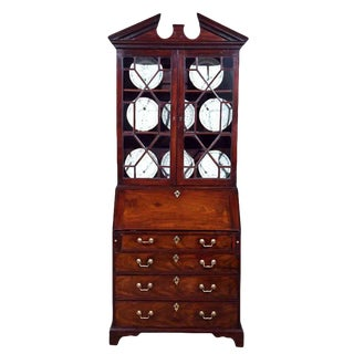 George III Secretary Bookcase For Sale