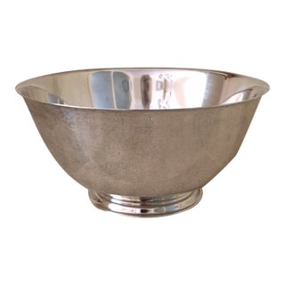Wm A Rogers Silverplate Revere Bowl For Sale