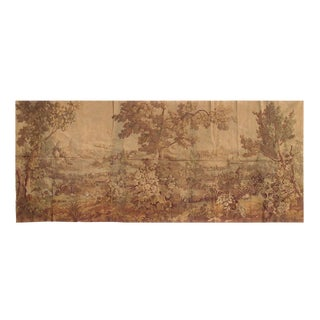 "1930s Vintage Pasargad French Tapestry - 4′9″ × 11′4"" For Sale"
