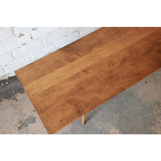 Paul McCobb Planner Group Birch Coffee Table For Sale - Image 9 of 11