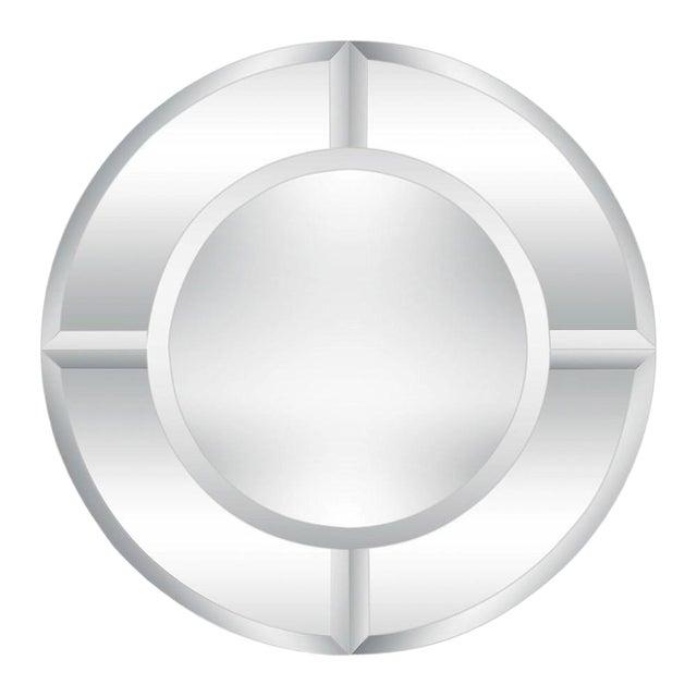 Karl Springer Large Saturn Wall Mirror For Sale