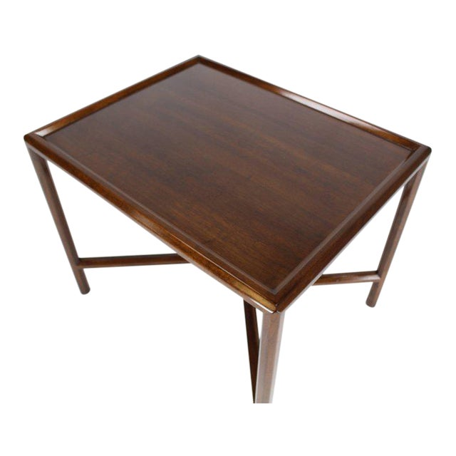 Dunbar Walnut Side Table For Sale