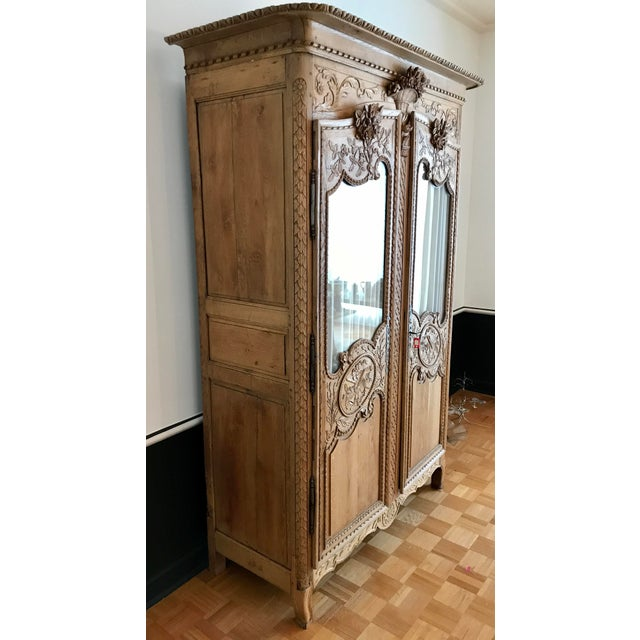 18'th Century Carved French Cupboard Armoir. For Sale - Image 4 of 12