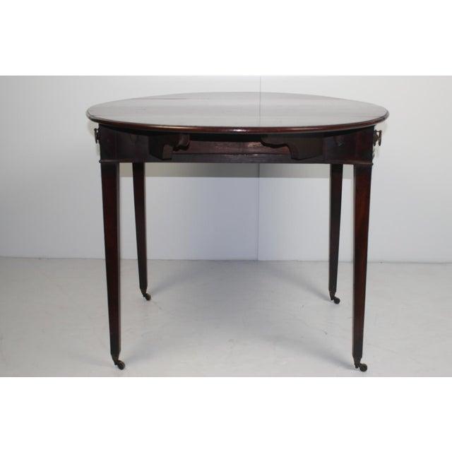 19th Century English Mahogany Pembroke Table - Image 4 of 5