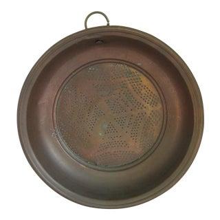 Vintage Copper Strainer