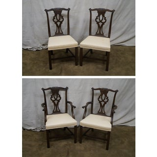 Kittinger Mahogany Dining Chairs - Set of 8 Preview