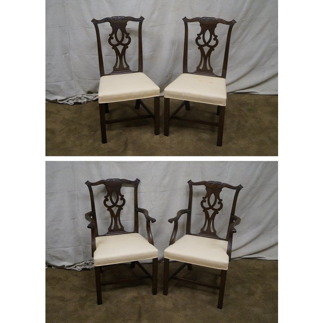 Kittinger Mahogany Dining Chairs - Set of 8 - Image 2 of 10