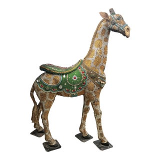 Bedazzled Life Size Baby Giraffe For Sale