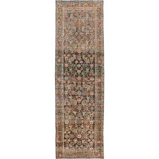 "Apadana-Antique Persian Distressed Rug, 4'2"" X 13'6"""