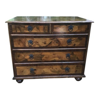 Italian Wooden Chest of Drawers For Sale